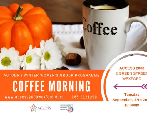 Coffee Morning – Autumn / Winter Women's Group Programme