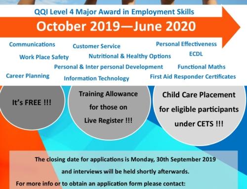 Experience Success Programme 2019/2020