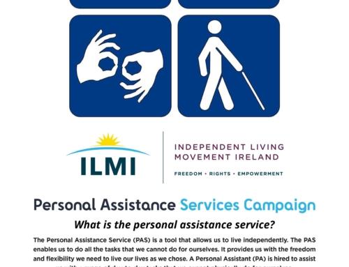ILMI – Personal Assistant Service Campaign