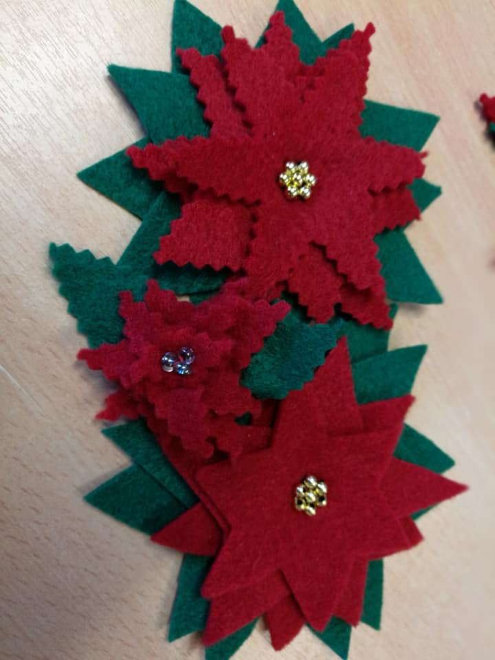 christmas felt decorations
