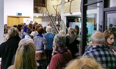 Fleur van Leeuwen guest speaker at The Elephant Collective Campaign event